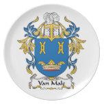Escudo de Van Male Family Plato