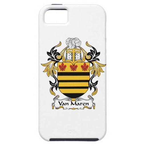 Escudo de Van Maren Family iPhone 5 Case-Mate Carcasas