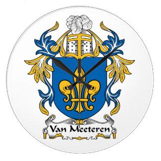 Escudo de Van Meeteren Family Relojes