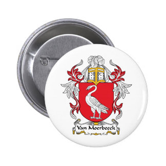 Escudo de Van Moerbeeck Family Pins