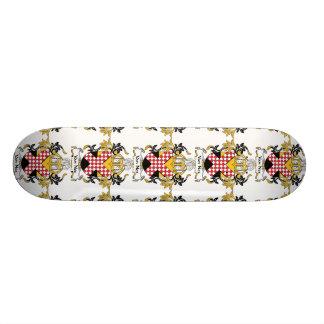 Escudo de Van Nes Family Tablas De Skate