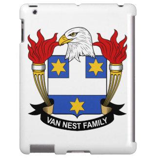 Escudo de Van Nest Family Funda Para iPad