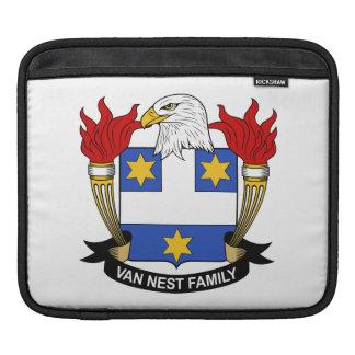 Escudo de Van Nest Family Mangas De iPad