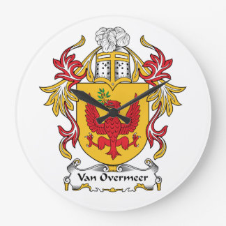 Escudo de Van Overmeer Family Reloj