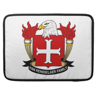 Escudo de Van Rensselaer Family Fundas Macbook Pro