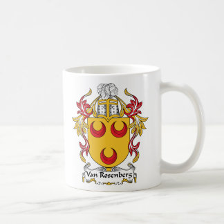 Escudo de Van Rosenberg Family Taza De Café
