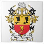 Escudo de Van Ryssen Family Azulejos Cerámicos