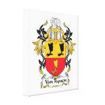 Escudo de Van Ryssen Family Impresion De Lienzo