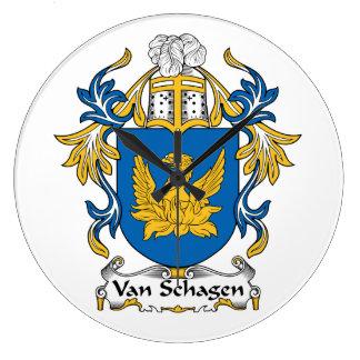 Escudo de Van Schagen Family Relojes