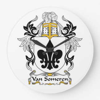 Escudo de Van Someren Family Reloj