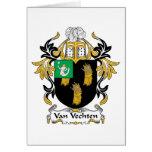 Escudo de Van Vechten Family Tarjetas
