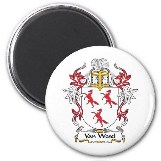 Escudo de Van Wesel Family Iman