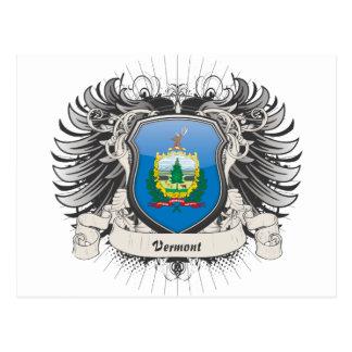 Escudo de Vermont Tarjeta Postal