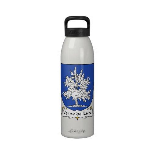 Escudo de Verne de Luze Family Botellas De Agua Reutilizables