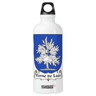Escudo de Verne de Luze Family Botella De Agua