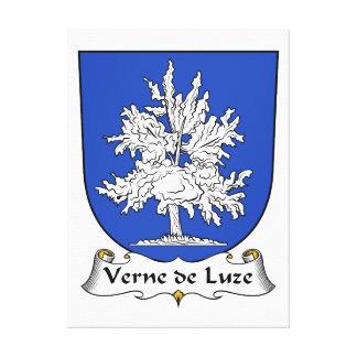 Escudo de Verne de Luze Family Impresión En Lienzo