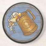 Escudo de Viking - jarra de cerveza Posavasos Cerveza
