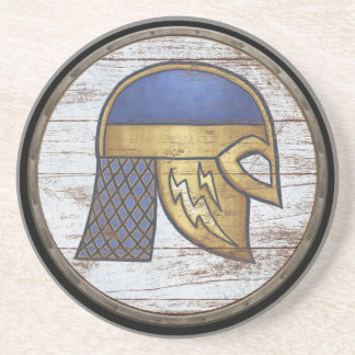 Escudo de Viking - timón Posavaso Para Bebida