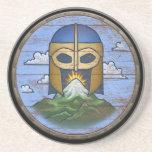 Escudo de Viking - Valhalla Posavasos Personalizados