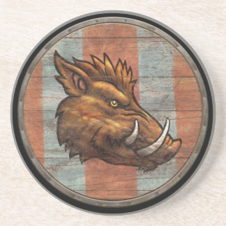 Escudo de Viking - verraco Posavasos Cerveza