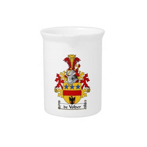 escudo de Volder Family Jarrón