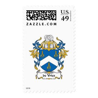 escudo de Vries Family Sello