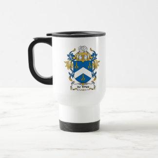 escudo de Vries Family Taza De Viaje