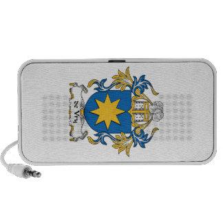 escudo de Vry Family Altavoces De Viaje