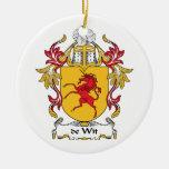 escudo de Wit Family Adornos