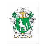 escudo de Wolf Family Postal