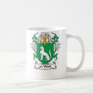 escudo de Wolf Family Taza Clásica