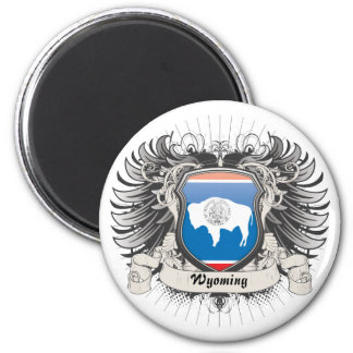 Escudo de Wyoming Imanes
