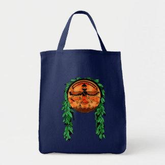 Escudo de Zuni del nativo americano Bolsa Tela Para La Compra
