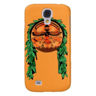 Escudo de Zuni del nativo americano Funda Para Galaxy S4