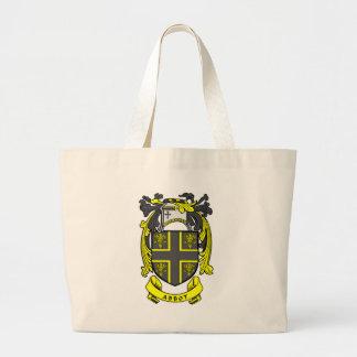 Escudo del abad bolsa de mano