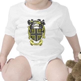 Escudo del abad traje de bebé
