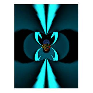 Escudo del azul de los regalos de Hakuna Matata Postal