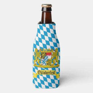 Escudo del Bavarian de Oktoberfest Enfriador De Botellas