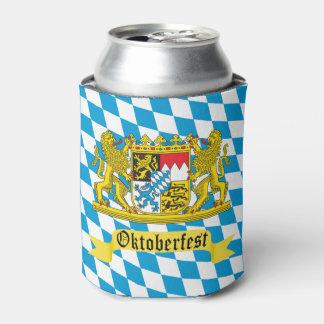 Escudo del Bavarian de Oktoberfest Enfriador De Latas