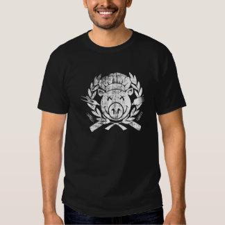 Escudo del Bbq - blanco llevado Camisas