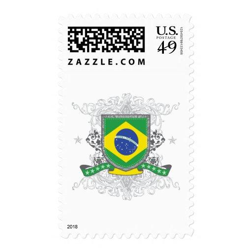 Escudo del Brasil Sello