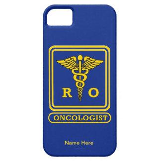 Escudo del caduceo del oncólogo de la radiación funda para iPhone 5 barely there