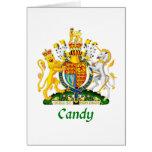 Escudo del caramelo de Gran Bretaña Tarjeta