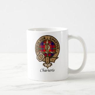 Escudo del clan de Charteris Taza