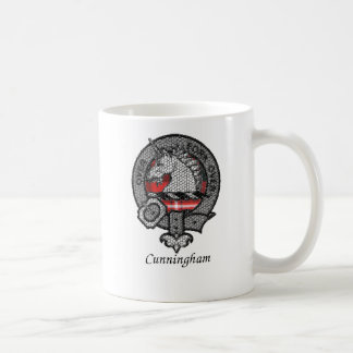 Escudo del clan de Cunningham Tazas