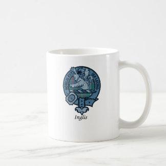 Escudo del clan de Inglis Taza De Café