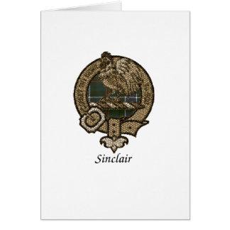 Escudo del clan de Sinclair Tarjeta De Felicitación
