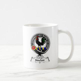 Escudo del clan de Sinclair Taza
