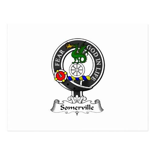 Escudo del clan de Somerville Postal