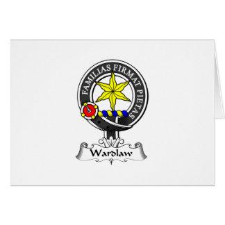 Escudo del clan de Wardlaw Felicitaciones